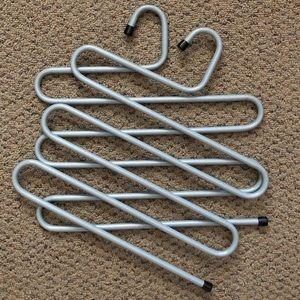 2 IKEA Metal Hangers